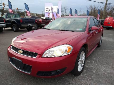 2013 Chevrolet Impala for sale at P J McCafferty Inc in Langhorne PA