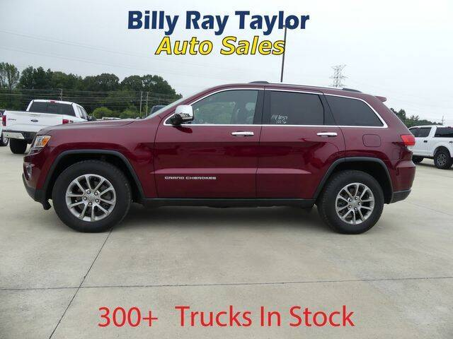 2016 Jeep Grand Cherokee for sale at Billy Ray Taylor Auto Sales in Cullman AL