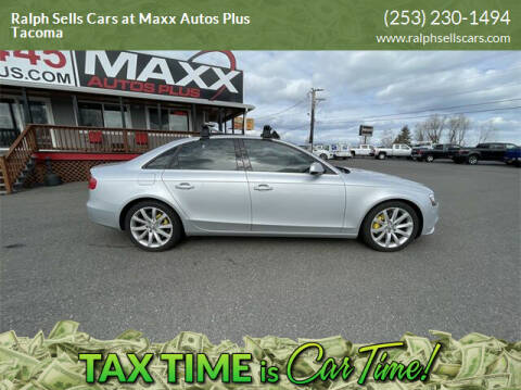 2013 Audi A4 for sale at Ralph Sells Cars at Maxx Autos Plus Tacoma in Tacoma WA