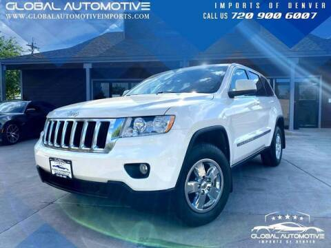 2012 Jeep Grand Cherokee for sale at Global Automotive Imports of Denver in Denver CO