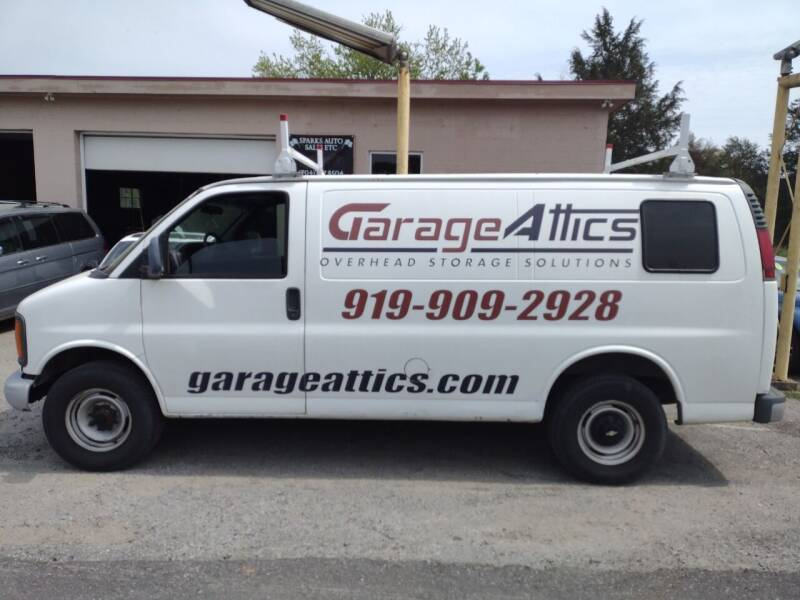 2002 Chevrolet Express Cargo for sale at Sparks Auto Sales Etc in Alexis NC