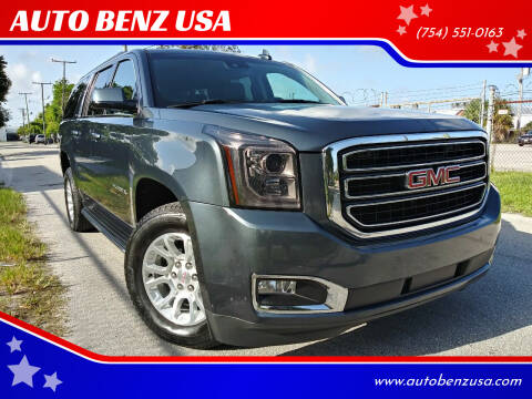 2019 GMC Yukon XL for sale at AUTO BENZ USA in Fort Lauderdale FL