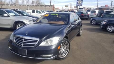 2010 Mercedes-Benz S-Class for sale at LA Motors LLC in Denver CO