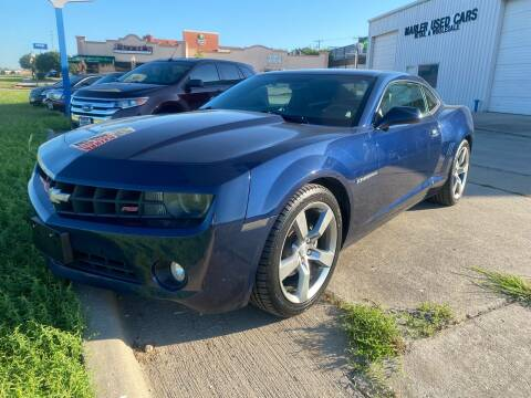 2011 Chevrolet Camaro for sale at MARLER USED CARS in Gainesville TX
