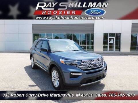 2021 Ford Explorer Hybrid for sale at Ray Skillman Hoosier Ford in Martinsville IN