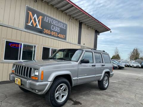 2001 Jeep Cherokee for sale at M & A Affordable Cars in Vancouver WA