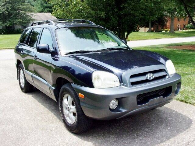 2005 Hyundai Santa Fe for sale at Curry's Auto Sales in Nicholasville KY
