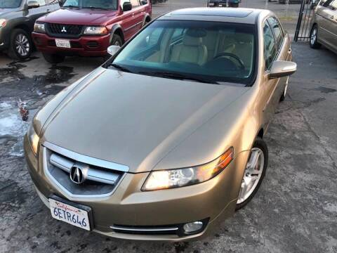 2008 Acura TL for sale at 101 Auto Sales in Sacramento CA