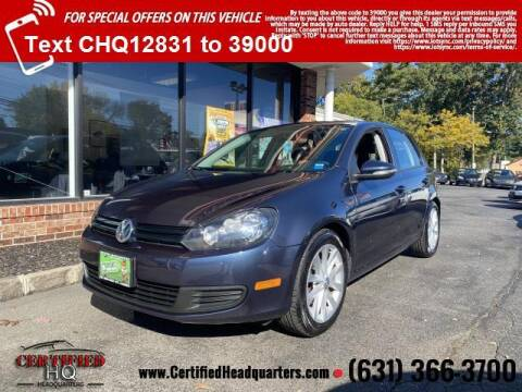 2011 Volkswagen Golf for sale at CERTIFIED HEADQUARTERS in St James NY