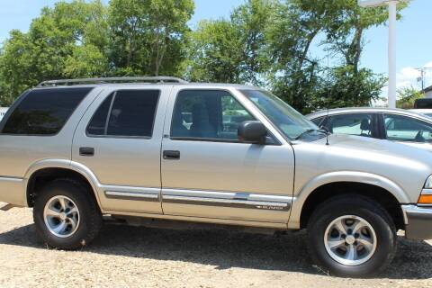 2000 Chevrolet Blazer for sale at Abc Quality Used Cars in Canton TX