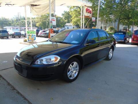 2012 Chevrolet Impala for sale at C&C AUTO SALES INC in Charles City IA