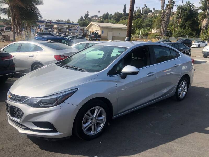 2019 Chevrolet Cruze for sale at Imports Auto Outlet in Spring Valley CA