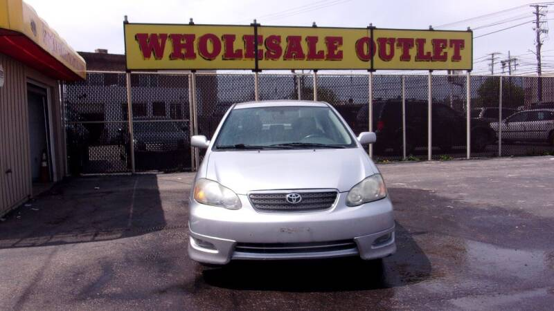 2007 Toyota Corolla for sale at LONG BROTHERS CAR COMPANY in Cleveland OH