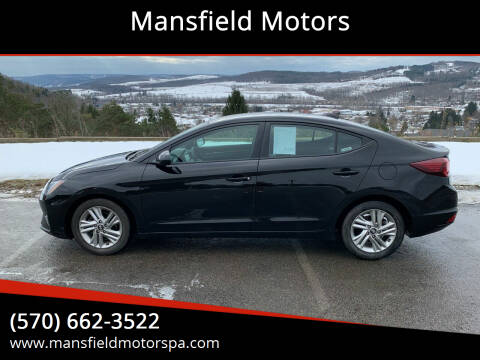 2019 Hyundai Elantra for sale at Mansfield Motors in Mansfield PA