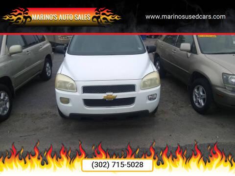 2008 Chevrolet Uplander for sale at Marino's Auto Sales in Laurel DE