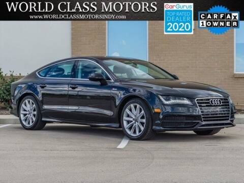 2013 Audi A7 for sale at World Class Motors LLC in Noblesville IN