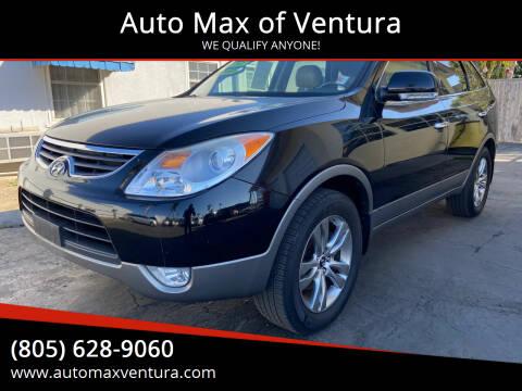 2012 Hyundai Veracruz for sale at Auto Max of Ventura - Automax 3 in Ventura CA