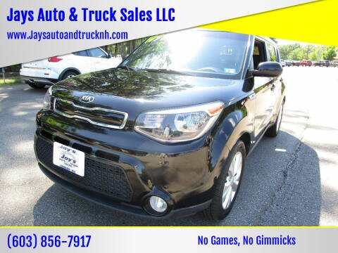 2016 Kia Soul for sale at Jays Auto & Truck Sales LLC in Loudon NH