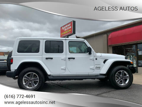 2020 Jeep Wrangler Unlimited for sale at Ageless Autos in Zeeland MI