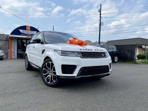 2021 Land Rover Range Rover Sport for sale at OTOCITY in Totowa NJ