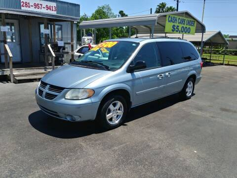 2005 Dodge Grand Caravan for sale at Texas 1 Auto Finance in Kemah TX