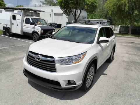 2014 Toyota Highlander for sale at Best Price Car Dealer in Hallandale Beach FL