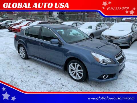 2013 Subaru Legacy for sale at GLOBAL AUTO USA in Saint Paul MN