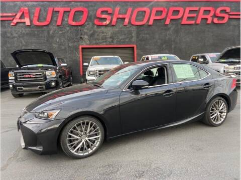 2017 Lexus IS 300 for sale at AUTO SHOPPERS LLC in Yakima WA