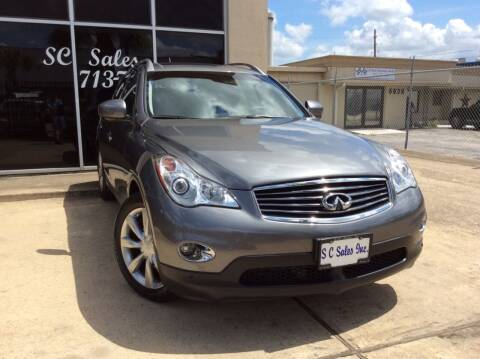 2015 Infiniti QX50 for sale at SC SALES INC in Houston TX