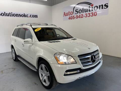 2012 Mercedes-Benz GL-Class for sale at Auto Solutions in Warr Acres OK