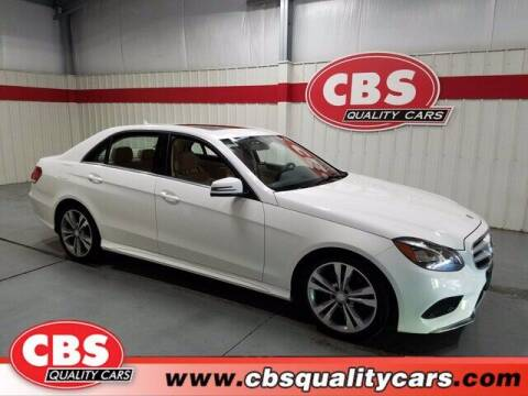 2016 Mercedes-Benz E-Class for sale at CBS Quality Cars in Durham NC
