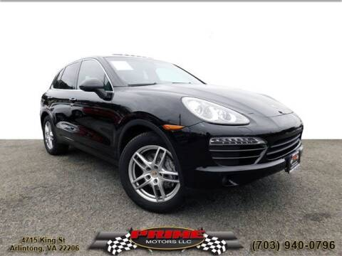2012 Porsche Cayenne for sale at PRIME MOTORS LLC in Arlington VA