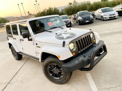 2018 Jeep Wrangler JK Unlimited for sale at Destination Motors in Temecula CA
