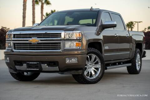 2015 Chevrolet Silverado 1500 for sale at Euro Auto Sales in Santa Clara CA