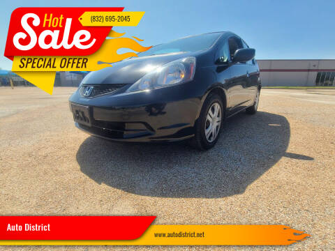 2011 Honda Fit for sale at Auto District in Baytown TX