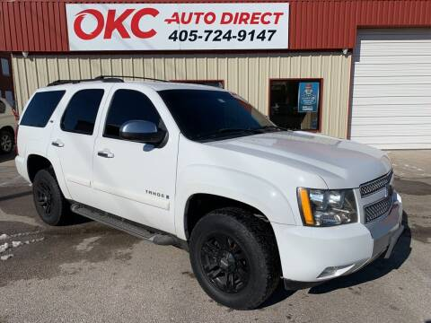 2007 Chevrolet Tahoe for sale at OKC Auto Direct in Oklahoma City OK