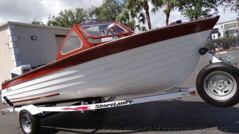 1957 THOMPSON SEA LANCER for sale at MOTORCARS in West Palm Beach FL