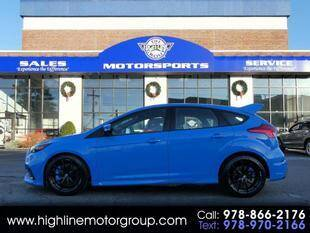 2017 Ford Focus for sale at Highline Group Motorsports in Lowell MA