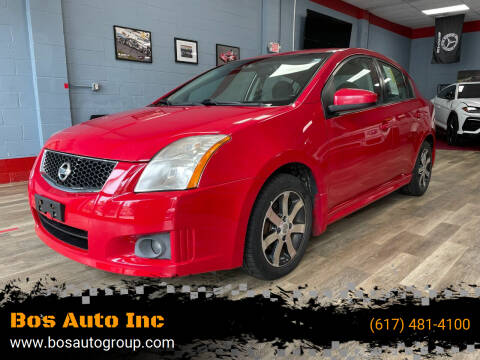 2012 Nissan Sentra for sale at Bos Auto Inc in Quincy MA
