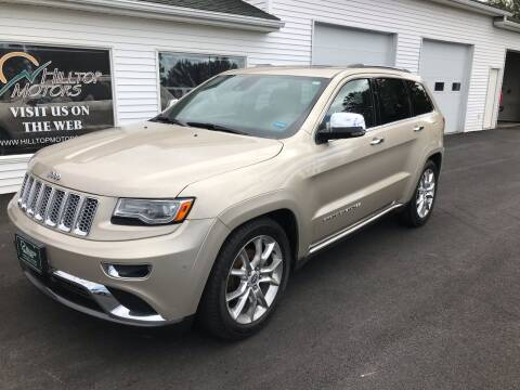 2014 Jeep Grand Cherokee for sale at HILLTOP MOTORS INC in Caribou ME