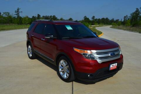 2015 Ford Explorer for sale at Fincher's Texas Best Auto & Truck Sales in Tomball TX