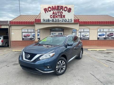2015 Nissan Murano for sale at Romeros Auto Center in Tulsa OK