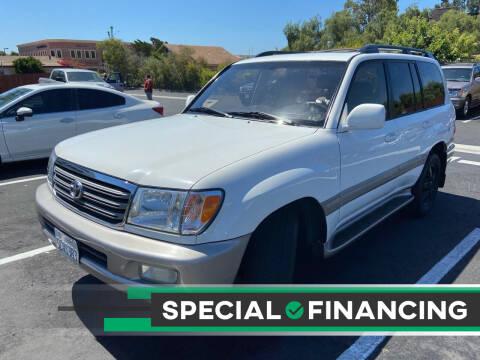 2003 Toyota Land Cruiser for sale at Coast Auto Motors in Newport Beach CA