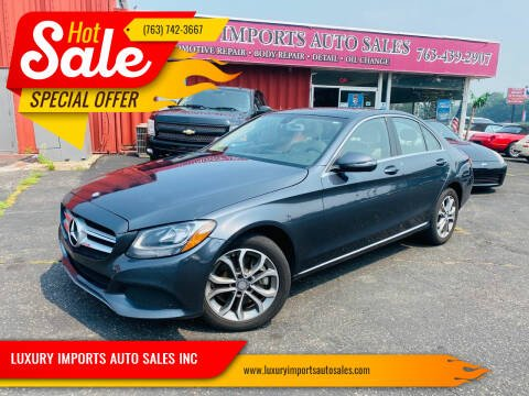 2016 Mercedes-Benz C-Class for sale at LUXURY IMPORTS AUTO SALES INC in North Branch MN