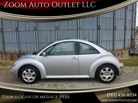 2003 Volkswagen New Beetle for sale at Zoom Auto Outlet LLC in Thorntown IN