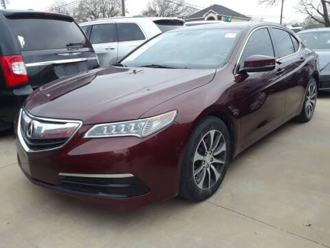2016 Acura TLX for sale at Auto Haus Imports in Grand Prairie TX