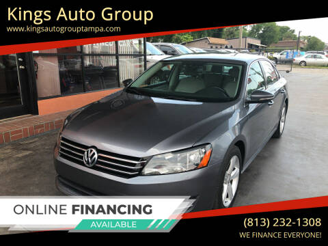 2012 Volkswagen Passat for sale at Kings Auto Group in Tampa FL
