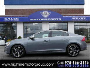 2017 Volvo S60 for sale at Highline Group Motorsports in Lowell MA