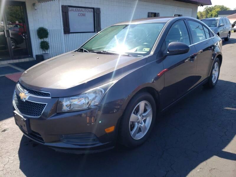 2014 Chevrolet Cruze for sale at Salem Auto Sales in Salem VA