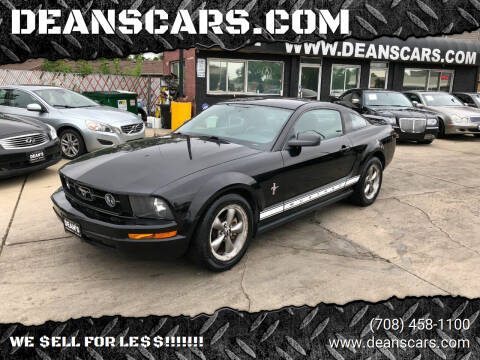 2006 Ford Mustang for sale at DEANSCARS.COM in Bridgeview IL